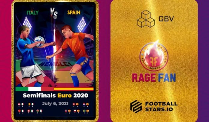 Rage.Fan to Airdrop limited edition NFTs at Wembley Stadium for EURO2020