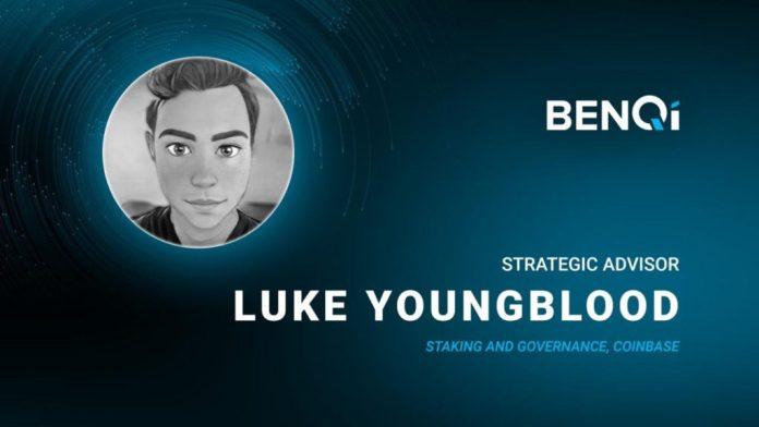 Senior Coinbase Engineer Luke Youngblood Joins BENQI Liquidity Market Protocol As A Strategic Advisor