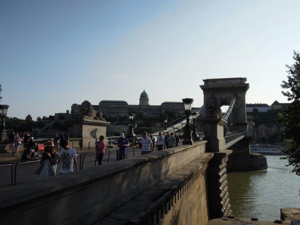 Budapeszt most i zamek
