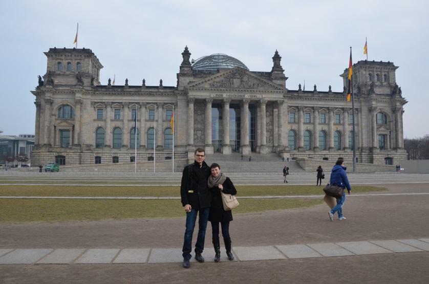 Berlin 2 dni Reichstag