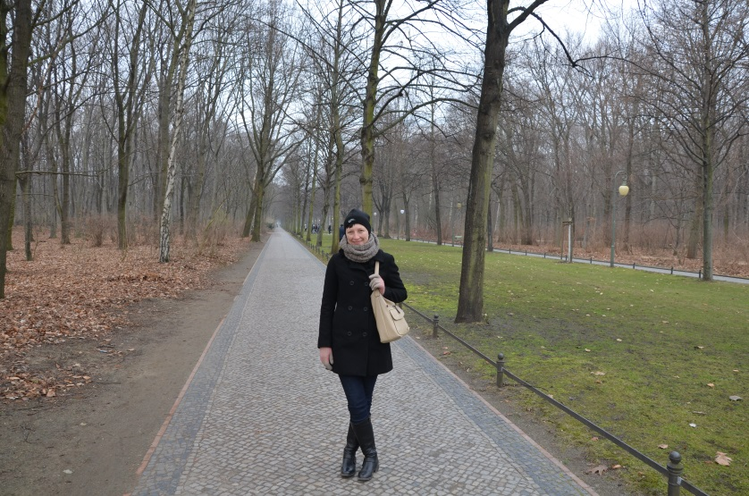 Berlin w 2 dni - park Tiergarten