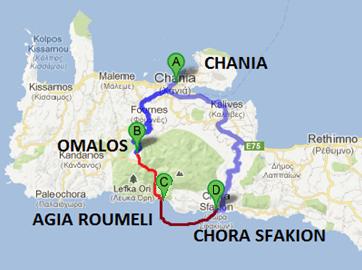 Mapka Samaria