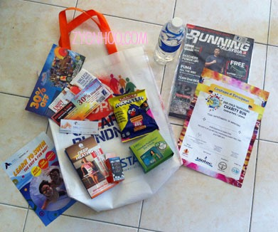 What's in our goodie bag