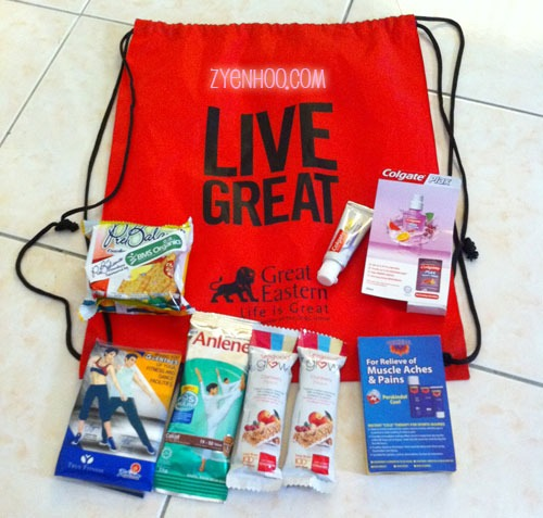 What is in our goodie bag!