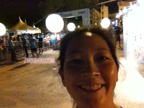 Selfie with Start Line!