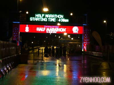 The Start arch of the PBHM