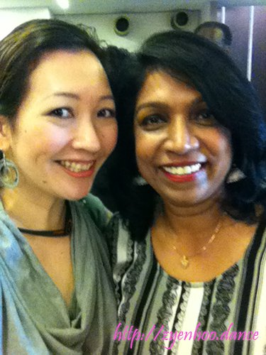 Me with the amazing Liitha Krishnan, founder of World Bachata Festival