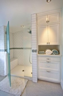 Adorable Master Bathroom Shower Remodel Ideas 18