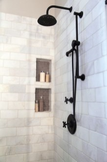 Adorable Master Bathroom Shower Remodel Ideas 28