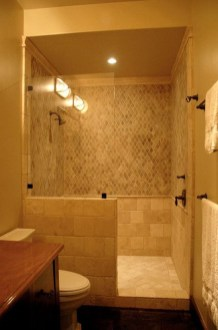 Adorable Master Bathroom Shower Remodel Ideas 31