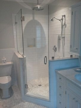 Adorable Master Bathroom Shower Remodel Ideas 46
