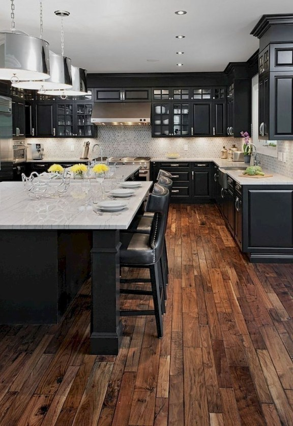 Adorable Rustic Farmhouse Kitchen Design Ideas 47