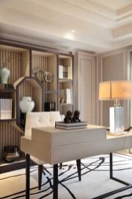 Cozy And Elegant Office Décor Ideas 01
