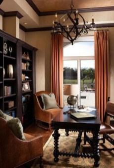 Cozy And Elegant Office Décor Ideas 20