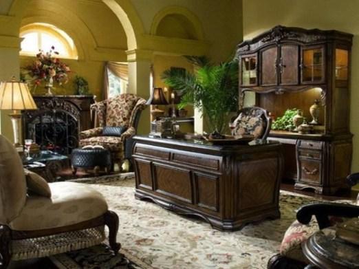 Cozy And Elegant Office Décor Ideas 26