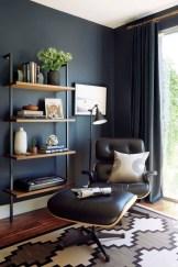 Cozy And Elegant Office Décor Ideas 32