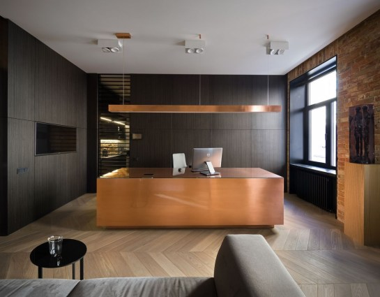 Cozy And Elegant Office Décor Ideas 35