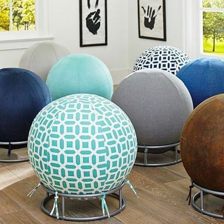 Cozy Ball Chair Design Ideas 06