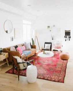 Cozy Bohemian Living Room Design Ideas 09