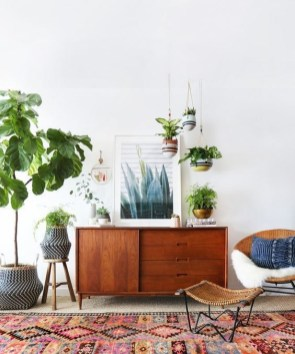 Cozy Bohemian Living Room Design Ideas 14