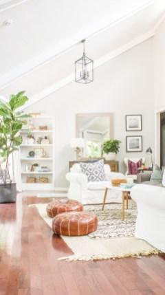 Cozy Bohemian Living Room Design Ideas 42
