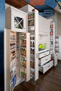 Cozy Kitchen Pantry Designs Ideas 12