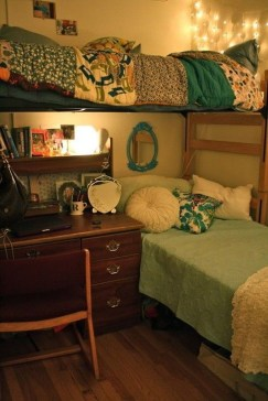 Genius Dorm Room Space Saving Storage Ideas 12