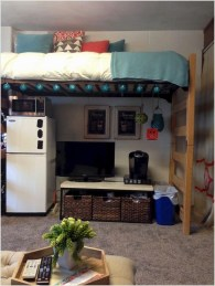 Genius Dorm Room Space Saving Storage Ideas 14