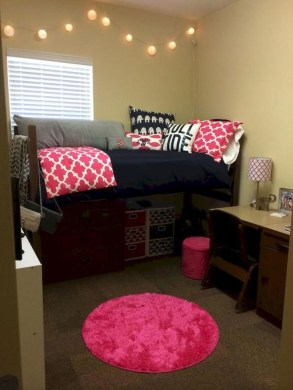 Genius Dorm Room Space Saving Storage Ideas 39