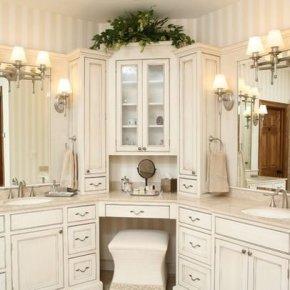 Gorgeous Bathroom Vanity Mirror Design Ideas 17