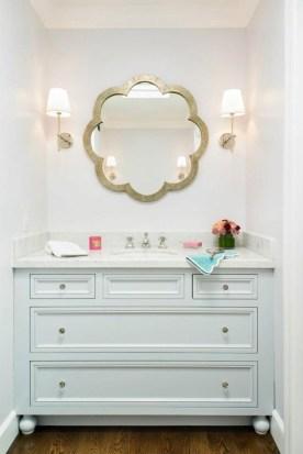 Gorgeous Bathroom Vanity Mirror Design Ideas 31