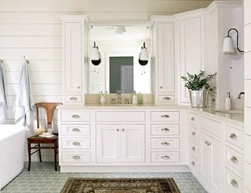 Gorgeous Bathroom Vanity Mirror Design Ideas 41