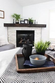 Inspiring Corner Fireplace Ideas In The Living Room 02