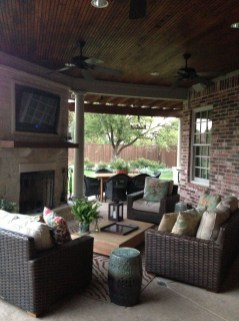 Inspiring Corner Fireplace Ideas In The Living Room 05