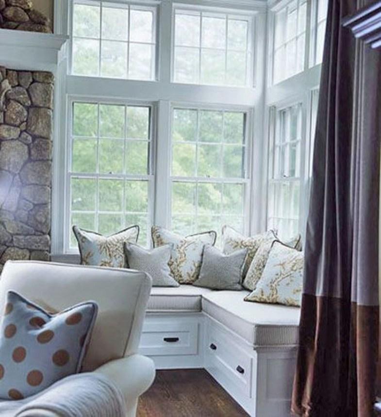 Inspiring Corner Fireplace Ideas In The Living Room 09