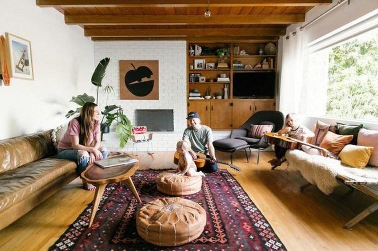 Inspiring Corner Fireplace Ideas In The Living Room 19