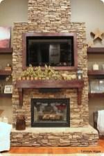 Inspiring Corner Fireplace Ideas In The Living Room 27