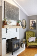 Inspiring Corner Fireplace Ideas In The Living Room 28