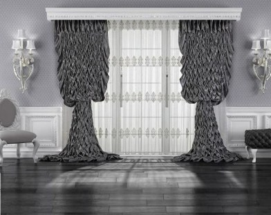 Modern Curtain Designs For Living Room 18