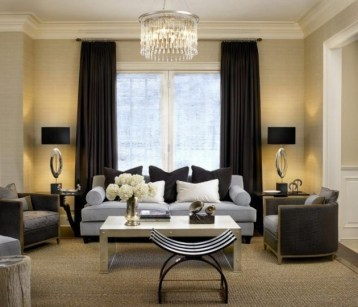 Modern Curtain Designs For Living Room 38