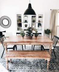 Modern Diy Wooden Dining Tables Ideas 13