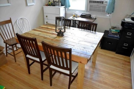 Modern Diy Wooden Dining Tables Ideas 33