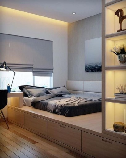 Modern But Simple Japanese Styled Bedroom Design Ideas 07