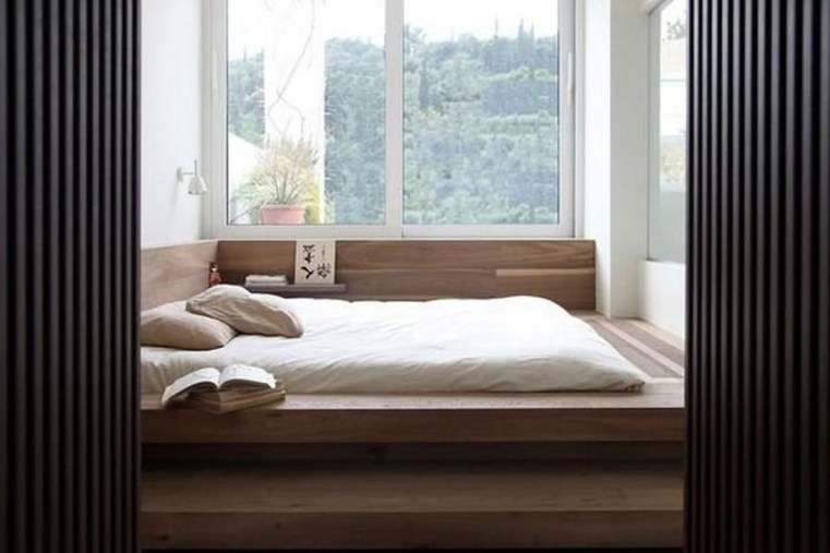 Modern But Simple Japanese Styled Bedroom Design Ideas 08