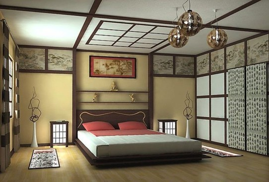 Modern But Simple Japanese Styled Bedroom Design Ideas 12