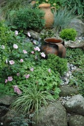 RSimple Rock Garden Decor Ideas For Front And Back Yard 34