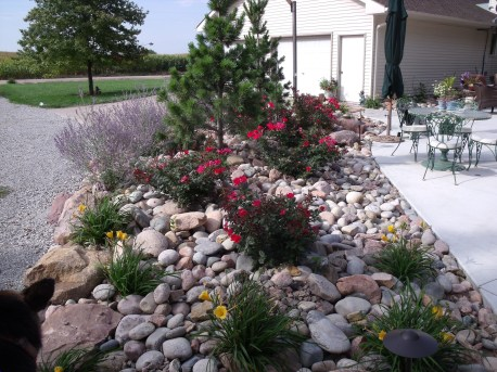 RSimple Rock Garden Decor Ideas For Front And Back Yard 39