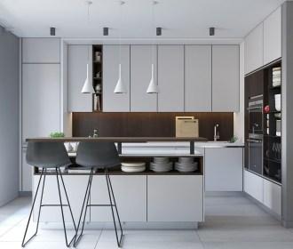 Relaxing Minimalist Kitchen Design Ideas 14