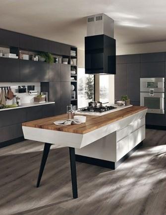 Relaxing Minimalist Kitchen Design Ideas 27