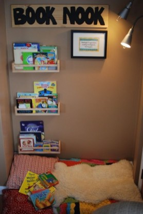 Simple Diy Book Nook Ideas For Kids 06